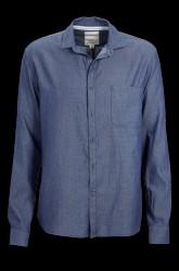 The Indigo Washed Shirt