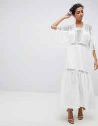 The Jetset Diaries Beachwood Maxi Dress - White