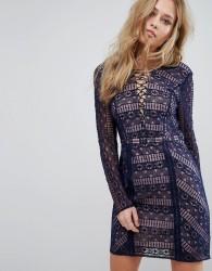 The Jetset Diaries Eden Mini Dress - Blue