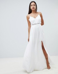 The Jetset Diaries Fara maxi dress - White