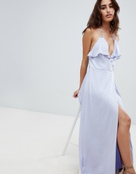The Jetset Diaries Opal Wrap Maxi Dress - Purple