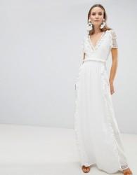 The Jetset Diaries Prairie Cutwork Maxi Dress - White