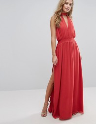 The Jetset Diaries Shale Maxi Dress - Red