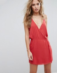 The Jetset Diaries Shale Mini Dress - Red
