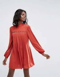 The Jetset Diaries Siren Mini Dress - Red