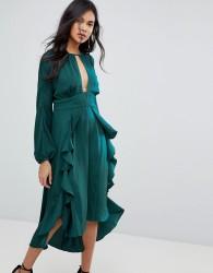 The Jetset Diaries Songbird Midi Dress - Green