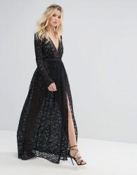 The Jetset Diaries Zodiac Maxi Dress - Black