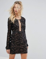 The Jetset Diaries Zodiac Mini Dress - Black