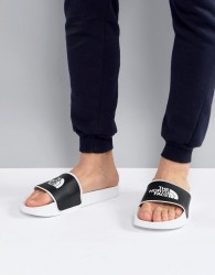 The North Face Base Camp Sliders II in White/Black - White