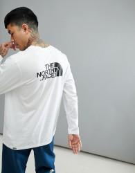 The North Face Easy Long Sleeve Top In White - White