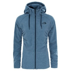 The North Face Mezzaluna Hoodie Fleecetrøje - Dame