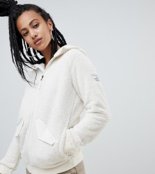 The North Face Womens Campshire Bomber Fleece in White - White