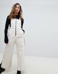 The Ragged Priest Dungaree With D-Ring - Beige