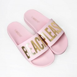 The White Brand Slippers - Beach Pink