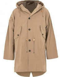 The Workers Club Packable Parka Fawn men S