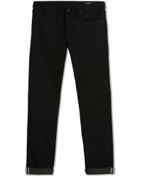 The Workers Club Slim Fit Jeans Raw Black Selvedge men W34