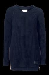 The Zipped Heavy Knit