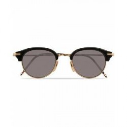 Thom Browne TB-706 Sunglasses Black/Dark Grey