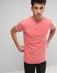 Threadbare Acid Wash T-Shirt - Pink