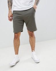 Threadbare Basic Jersey Shorts - Green