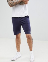 Threadbare Basic Jersey Shorts - Navy