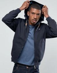 Threadbare Hooded Jacket - Navy