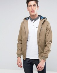 Threadbare Hooded Jacket - Stone