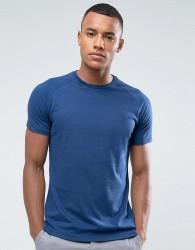 Threadbare Marl T-Shirt - Navy