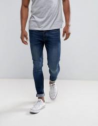 Threadbare Super Skinny Jeans in Blue Wash - Blue