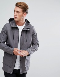 Threadbare Tampa Jacket - Grey