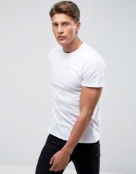 Threadbare Textured Dd Stars T-Shirt - White