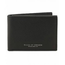 Tiger of Sweden Agata Leather Wallet Black