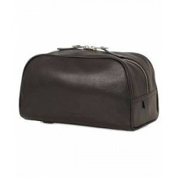 Tiger of Sweden Bonardi Leather Toilet Bag Black