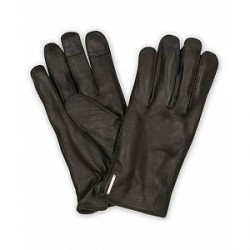 Tiger of Sweden Gandalus Leather Glove Black