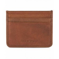 Tiger of Sweden Gleizes Leather Cardholder Brown