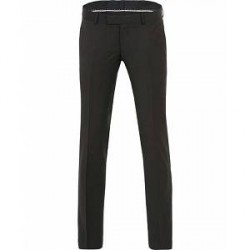 Tiger of Sweden Gordon Wool Trousers Black