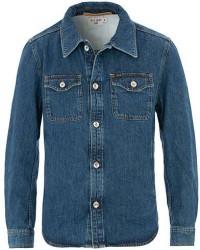 Tiger of Sweden Jeans Get Organic Cotton Denim Jacket Midnight Blue men XL