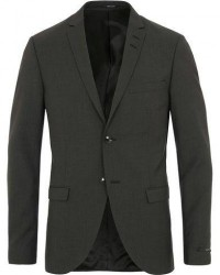 Tiger of Sweden Jil Wool Blazer Dark Grey men 48 Grå