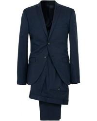 Tiger of Sweden Jil Wool Stretch Suit Country Blue men One size Blå
