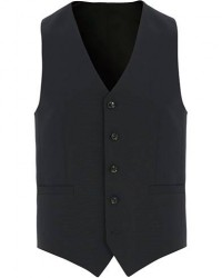 Tiger of Sweden Litt Wool Waistcoat Navy men 50 Blå
