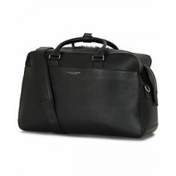 Tiger of Sweden Micke Leather Weekendbag Black