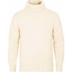 Tiger of Sweden Nowell Chunky Knit Polo White