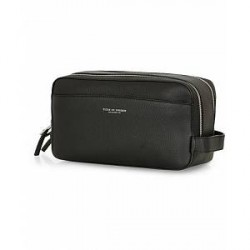 Tiger of Sweden Waire Leather Washbag Black