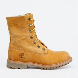 Timberland Boots - Authentic Teddy Fold Down