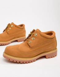 Timberland x Engineered Garments Oxford Brogues In Wheat - Beige