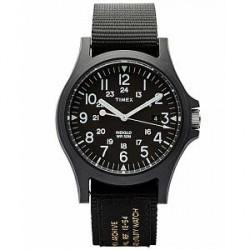 Timex Acadia Military Nylon Black