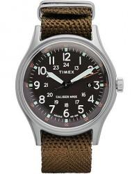 Timex Camper MK1 Aluminum Silver/Black Dial men One size Grøn