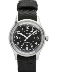 Timex Camper MK1 Metal Steel/Black Dial men One size Sort