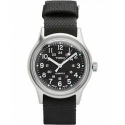 Timex Camper MK1 Metal Steel/Black Dial