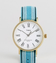 Timex Fairfield Avenue Reversible Nato Watch With White Dial Exclusive To ASOS - Multi